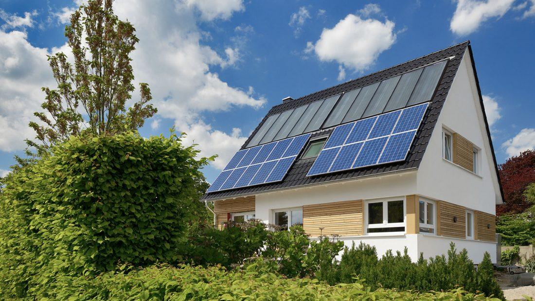 Haus Solardach